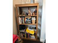 Wood bookcase John Lewis