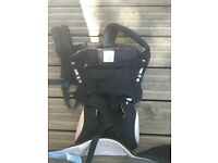 Ergobaby 360 bundle of joy baby carrier (black and camel) * unused * ergo baby*