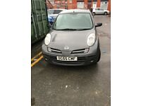 Bargain sale ! 55 plate Nissan Micra new shape ! 1.2 cheap to run ! Start And drive ! Swap/px £399