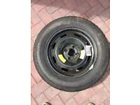 195/65 R15 91 H continental wheel tyre 25pound for quick sale. 25£. Cost 55£ new