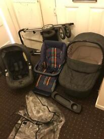 Mamas and papas mpx travel system pushchair pram