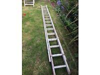 Large Wooden Ladder