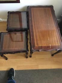 3 peice table set