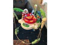 S0LD.....Fisher price rainforest jumperoo..