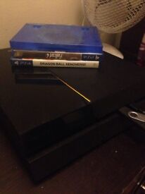 PS4 for sale £150 4 games