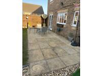 68 patio slabs 900x600 approximately 36m2