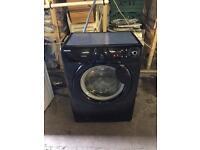 Hoover ophs712b black 7kg washing machine