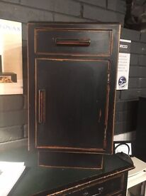 Up Cycled Time Worn Finish Vintage Cabinet