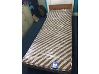 Fold up single bed