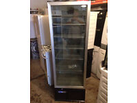 Infrico 324 Ltr Upright Single Glass Door Back Bar Cooler: ZXS10 with 3 Month Warranty