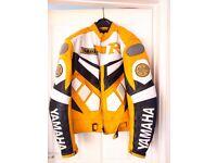 Yamaha Motorcyle Jacket. Good condition. 38/40 inch chest
