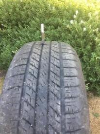 Good year Wrangler tyre 255 55 19
