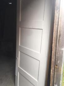 """Solid White Internal door 30"""" 78"""""""