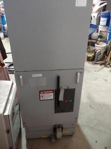 Square D Medium Voltage VR Type Breaker, 5 KV, 1200 AMP Rated