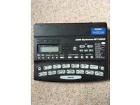 ZOOM RhythmTrak beat box/drum and bass machine