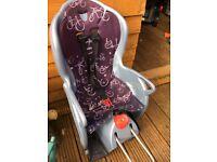 Child car bike seat