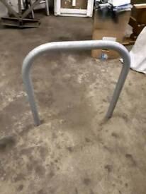 Cycle security hoop