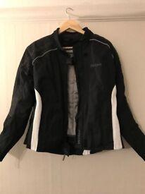 Weise Gemma Jacket Ladies Textile Waterproof CE Armour Motorcycle Jacket (M)