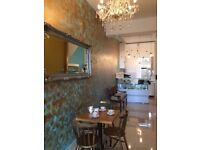 Small coffee shop for sale