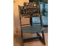 Stoke Trip Trapp High Chair - Blue