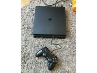 500GB PS4 Slim Console + Controller + Wires