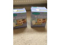 2 boxes Lashinoh breast pads