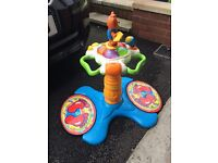 Toddler bouncer and activity set