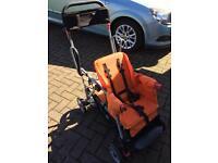 Caboose lightweight double pushchair