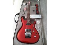 Ibanez JS24P Electric Guitar and Case.