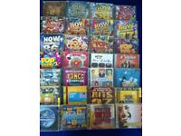 POP COMPILATION CDs (various years)