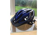 Gyro Flurry Youth Bike Helmet Blue And Black, Rarely Used - Great Condition