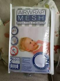 Airwrap Mesh Cot Bumper