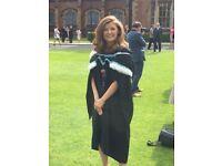English Literature Tutor- GCSE/A Level/Undergraduate
