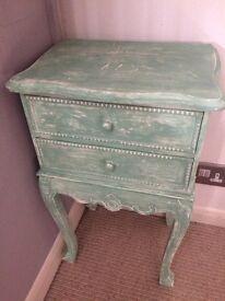 Original vintage French bedside table