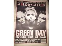 Melody Maker newspapers
