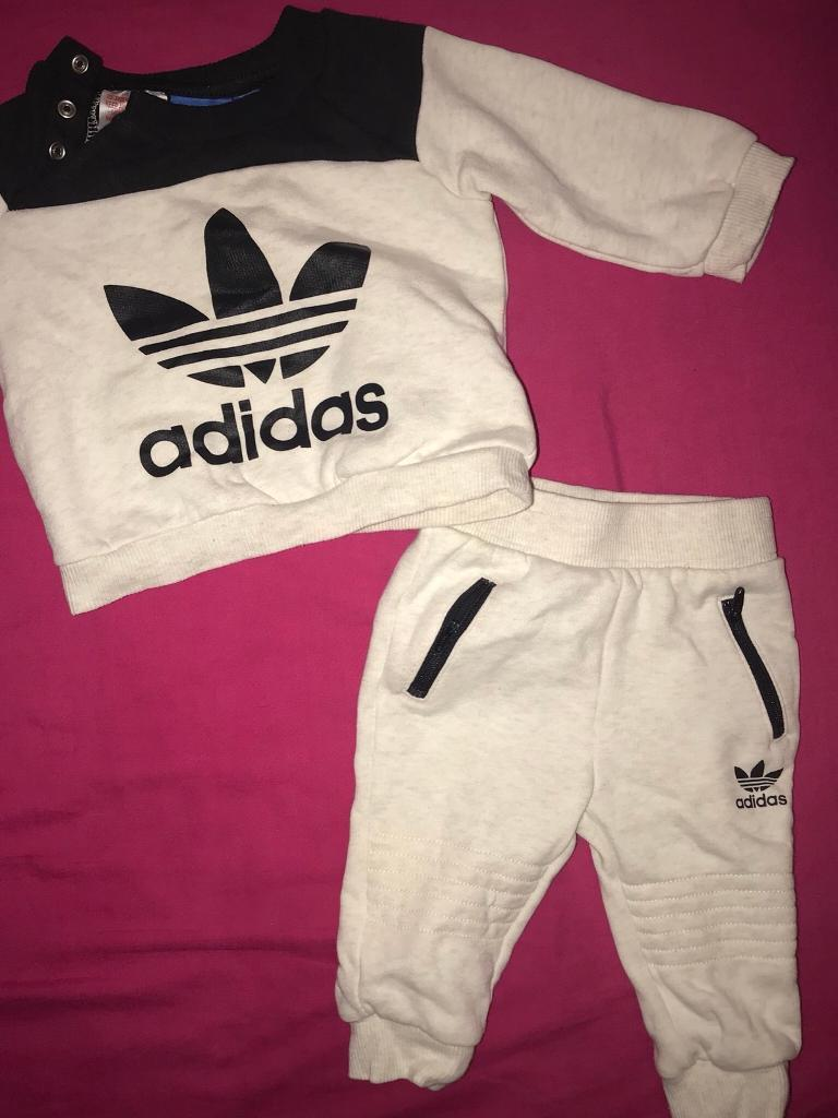 162a2a35399 Adidas - baby boy tracksuit - size 3-6 months