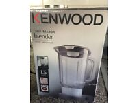 Kenwood blender to be used with kenwood mixer orfood processor