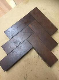 Parquet flooring vintage