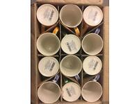 Box of 12 mugs. £12 only