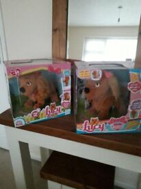 Lucy puppy club petz £20 each new