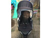Britax B smart pushchair (double sided face )