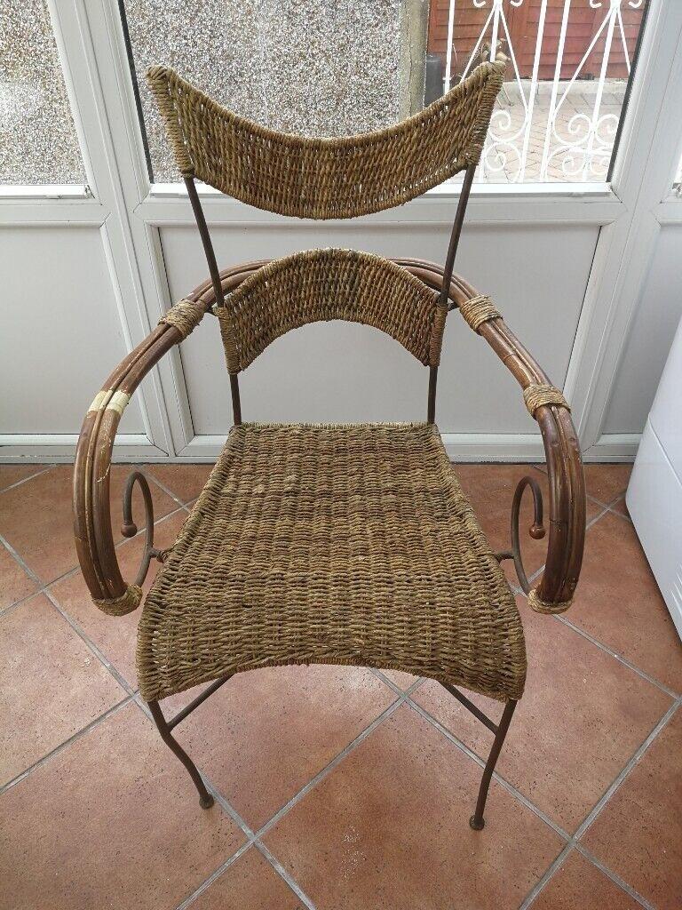 Wicker Chair | in Stockwood, Bristol | Gumtree