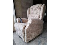 TWIN MOTOR Electric riser recliner armchair chair rise recline adjustable mobility FULL SIZE.