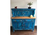Ercol Vintage Sideboard Dresser Cabinet