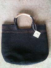 "BRAND NEW WITH TAG ""LE PANIER"" CROCHET BAG New Farm Brisbane North East Preview"