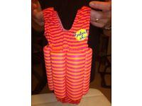 Baby girl swimsuit / baby bath / baby microwave steriliser / baby change mat / truck