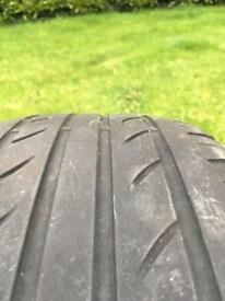 "Part worn 16"" tyres 2008 Vauxhall's Astra (205/55zr18)"
