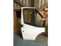 Ford transit mk7 drivers side front door complete
