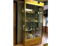 Glass Cabinet, shop display units or for home use