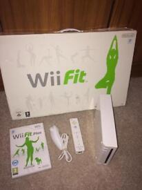 Nintendo Wii fit bundle